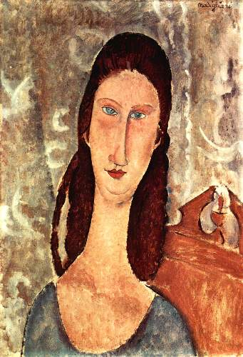 Modigliani - Portrait of Jeanne Hebuterne [2]
